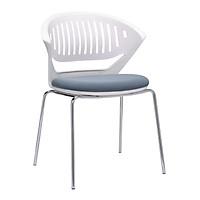 Combo 4 Ghế đa năng cao cấp khung kim loại dùng trong phòng họp, ngoài trời, pantry, nhà hàng, quán cafe, bàn trang điểm... mã sản phẩm K000-020, K000-021