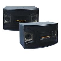 Bộ 2 Loa Karaoke Nghe Nhạc Gia Đình Peenner PS-990 Bass 25cm từ đôi, Thùng gỗ sơn chống trầy - Hàng cao cấp chính hãng