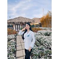Đồ Lam Nữ Đi Chùa - Bộ Đi Lễ Chùa Thêu Cá Vải Kate Mịn AL022 Trang Nhã Kín Đáo Dành Cho Phật Tử