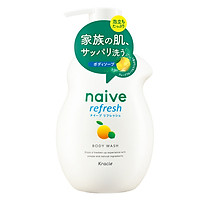 Sữa Tắm Hương Chanh Naïve 530ml