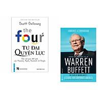 Combo 2 cuốn sách: The Four - Tứ Đại Quyền Lực + Những Bài Học Đầu Tư Từ Warren Buffett