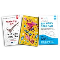 Bộ Sách Tuyệt Chiêu Marketing – Bán Hàng Đạt Doanh Số Vàng Thời Đại 4.0