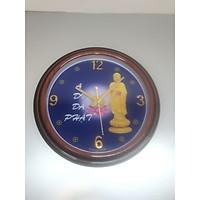 Đồng hồ treo tường mẫu có hình  Phật ADI ĐÀ