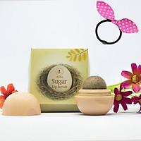 Tẩy da chết cho môi Sugar Lip Scrub Mini Garden -  Tặng Kèm Cột Tóc Tai Thỏ Màu Ngẫu Nhiên