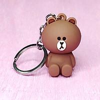 Móc khóa gấu Brown cực dễ thương