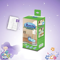 Bông lau nhung dài tĩnh điện iHomeDa ( 6 bông lau/hộp ) - iHomeda filaments fiber wipes/ wipes for static dry cleaning floor cleaning multi - surfaces solution ( 6 cloths/box)