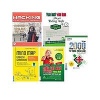 Combo 4 cuốn ; Hacking your english spealkng + MindMap ngữ pháp tiếng anh bằng sơ đồ tư duy+ Luyện siêu trí nhớ từ vựng Tiếng anh THPT+Vừa lười vừa bận vừa giỏi Tiếng anh ( tặng 2000 từ vựng Tiếng Anh+ 1 giá đỡ đt iring )