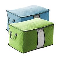 Bộ 02 Túi đựng chăn màn, quần áo bằng vải...