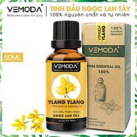 Tinh dầu Ngọc lan tây cao cấp. Ylang ylang Essential Oil. Tinh dầu xông phòng giúp thư giãn, chống trầm cảm, khử mùi, khử khuẩn, chăm sóc da. Tinh dầu thơm phòng cao cấp Vemoda