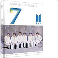 Album ảnh BTS mẫu mới Map the Soul 7' khổ A4 tặng kèm sticker BTS