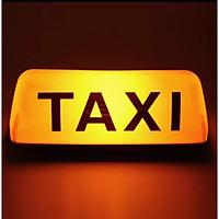 Mào taxi màu vàng - có đèn - đế nam châm