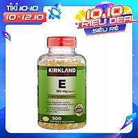 Thực phẩm bổ sung: KIRKLAND SIGNATURE VITAMIN E 400 I.U
