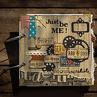 Scrapbook Just Be Me (20 x 20 cm)