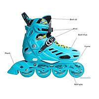 Giày Patin COUGAR MZS 313 hàng chính hãng cao cấp có 4 bánh phát sáng dành cho bé từ 3 tuổi đến 15 tuổi boot có thể tháo rời để giặt trò chơi lành mạnh giúp bé tăng cường sức khoẻ phát triển chiều cao