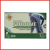 Bổ sung vitamin D3, canxi nano, axit folic, DHA, FOS, premiun protein Viên uống Canxi Nano Fobone cho người thiếu canxi, phụ nữ có thai, người loãng xương-Hộp 30 viên dùng trong 1 tháng