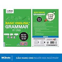 Sách - Ngữ Pháp Tiếng Anh Căn Bản Phiên Bản Bìa Xanh 1 Màu Dành Cho Người Mới Bắt Đầu - Kèm App Học Online