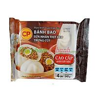 [Chỉ Giao HCM] - Bánh bao thịt trứng cút đông lạnh CP - Khay 240g