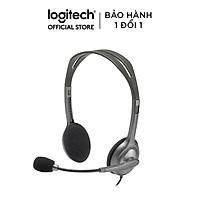 Tai Nghe Chụp Tai Logitech H110 - Hàng Chính Hãng