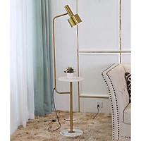 Đèn cây đứng trang trí phòng khách thân hợp kim mạ đồng vàng 896