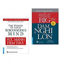 Combo 2 cuốn sách hay nhất về kĩ năng sống: Dám Nghĩ Lớn + Sức Mạnh Tiềm Thức ( Tặng kèm bookmark PD)