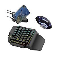 VINETTEAM Bàn Phím Giả Cơ K15 - Chuột V5 và Bộ Chuyển Đổi Game G5/G1 Chơi Game Pubg Mobile, Rules Of Survival, Free Fire Trên Điện Thoại, Máy Tính Bảng, Laptop Và PC - Hàng Chính Hãng