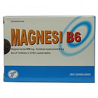 Thực phẩm chức năng Magnesi B6 giúp bổ sung Vitamin B6 và Magie