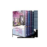 Trọn bộ Cách Một Cánh Cửa 4 tập tặng kèm Boxset và bookmark nam châm - Ân Tầm
