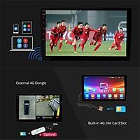 Combo bộMàn hình DVD ANDROID xe Huyndai I10 và mặt dưỡng,màn hình ô tô dùng sim 4G hoặc wifi-phát wifi, navitel,camera..