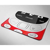 Miếng lót chuột đẹp mẫu Điện thoại đỏ (Nhiều kích thước)