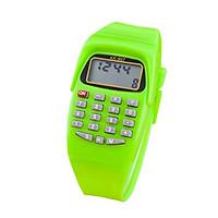 Đồng hồ điện tử nam nữ có chức năng xem giờ và máy tính KK - 907