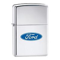 Bật Lửa Zippo 250f.957 Ford Oval High Polish Chrome