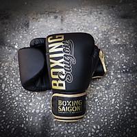Găng tay Boxing Saigon Inspire - Black/Gold