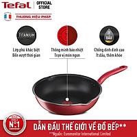 Chảo chiên chống dính đáy từ Tefal So Chef G1358496 24cm sâu lòng (Đỏ) - Công nghệ cảnh báo nhiệt thông minh - Hàng chính hãng