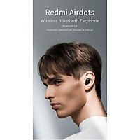 Xiaomi Redmi Airdots Xiaomi Wireless Earphone Voice Control Bluetooth 5.0 Noise Reduction Tap Control