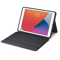 Bàn Phím Logitech RuggedFolio for iPad (7th and 8th gen) 10.2 inch Hàng chính hãng