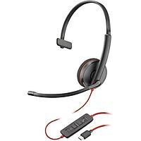 Tai nghe Plantronics C3215-USB-C tai nghe call center - hàng chính hãng