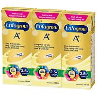 Lốc 3 Hộp Sữa Enfagrow A+4 360 Brain Plus Vanilla (180ml/Hộp)