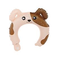 Bong bóng băng đô cài tóc hình con chó