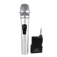 Micro Karaoke Không Dây Âm Thanh Cực Hay Màng Lọc Âm Cao Cấp PKCB128 - Hàng Chính Hãng