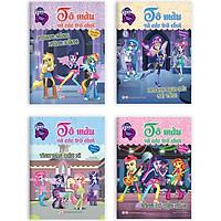 Combo Trọn Bộ 4 Cuốn: Pony Tô Màu Và Các Trò Chơi (Tặng Kèm Sticker)