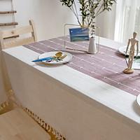Khăn trải bàn KBCC13 MARYTEXCO chất liệu cotton thêu, đường may tinh xảo, viền tua rua sang trọng phù hợp với những không gian cao cấp, đem lại nét đẹp tinh tế cho căn phòng