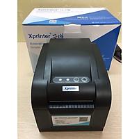 COMBO Máy in mã vạch Xprinter XP350B (Hàng chính hãng) + Tem Decal Nhiệt (30m)
