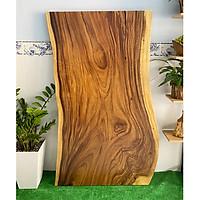 Mặt bàn gỗ me tây nguyên tấm tự nhiên KT 4.5x86x160cm