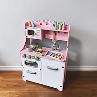Đồ Chơi Gỗ Skids, Đồ chơi nhà bếp hồng đáng yêu, cho bé gái thêm ngọt ngào và nữ tính