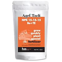Phân bón Agri-tech NPK 15-15-15 (1kg)