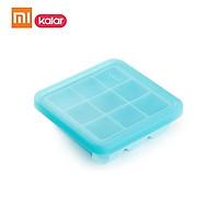 (Pass FDA)  Kalar Silicone Ice Cube Tray -20~200 ℃ DIY Ice Mold Square Shape Fruit Ice Cube Maker Bar Kitchen