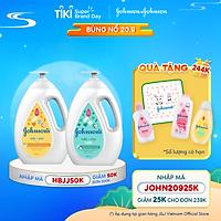 Bộ 2 chai Sữa tắm sữa & gạo Johnson's Milk Rice + Sữa tắm sữa & yến mạch Johnson's Milk Oats 1000ml x 2 - 540019940
