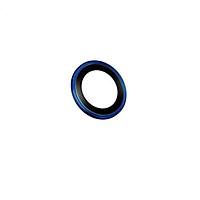 Dán cường lực bảo vệ camera iPhone 12 Pro Max Kuzoom viền màu - Hàng Nhập Khẩu