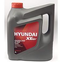 Dầu nhớt ô tô máy xăng Hyundai Gasoline G700 5W40 4 lít