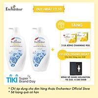 Combo 2 Sữa tắm hương nước hoa Enchanteur Magic 650gr/ Chai